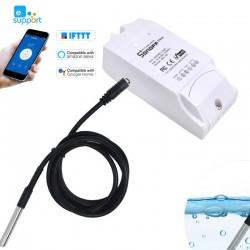 Sonoff Interruptor TH10/ TH16 Wi-Fi Smart Switch e sensor DS18B20