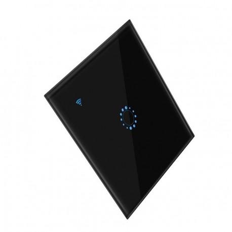 Interruptor Digital - Controlo à distância - Espelho preto