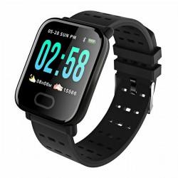 Sports Smartwatch/ Relógio A6 (Resistente à água) - Preto