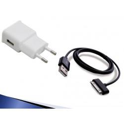 Carregador e cabo para Samsung Galaxy tab Gt-p3100