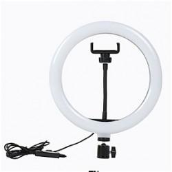 Ring Light / Anel de LED para Fotos e Vídeos com suporte para Smartphone