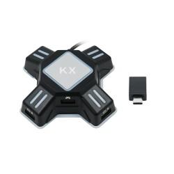 Adaptador KX Teclado/Rato para Playstation/Playstation 3/Playstation 4/ Xbox/ Nitendo Switch