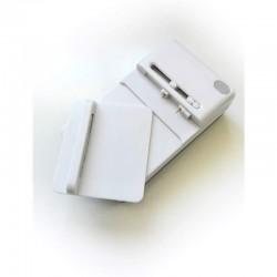Carregador Universal para Baterias de Telemóveis/ Máquinas Fotográficas/ MP4