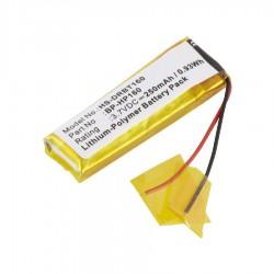 Bateria BP-HP160 para Auriculares/Headphones Sony DR-BT160/ DR-BT160AS