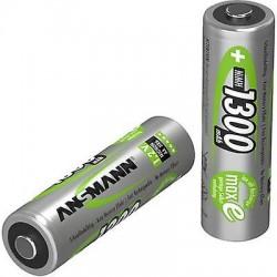 Pilhas/Baterias Recarregáveis 1300mAh