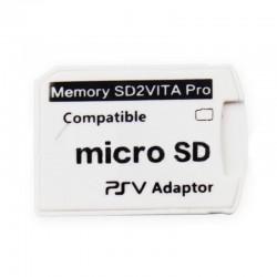 Adaptador SD2VITA PRO/ Adaptador de Cartão de Memória MicroSD Para PS Vita