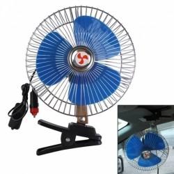 Ventoinha/Ventilador Oscilante para Automóvel de 12V