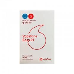 Cartão Para Telemóvel Vodafone 4G Easy 91