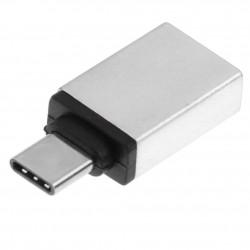 Adaptador- conversor USB-C (typeC) macho - USB 3.1 fêmea