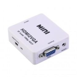 Adaptador / Conversor VGA-HDMI ( Video e Áudio)