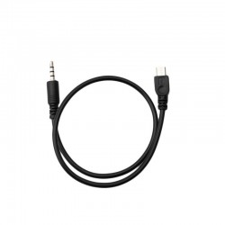 Cabo Micro USB para jack Audio 3.5mm de 41cm