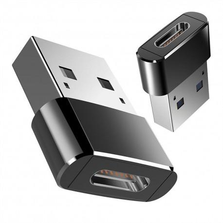 Adaptador - Mini conversor de USB para Type-C