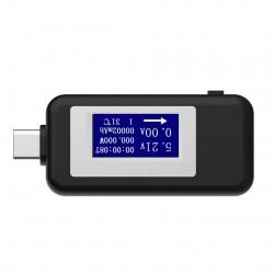 Voltímetro - Pen - Medidor de corrente Type C