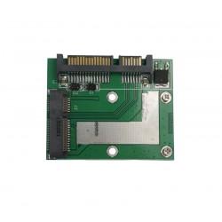 "Conversor/ Adaptador de Discos mSATA SSD para SATA 2.5"""