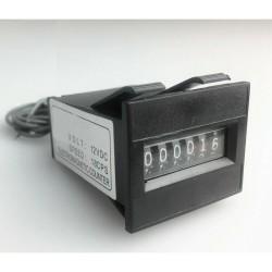 Contador de moedas de 6 Dígitos Electromagnético para Moedeiros