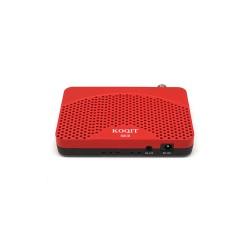 Koqit Receptor de Satélite DVB-S2 (CCCAM) + Antena USB WIFI (wireless)
