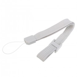 Fita de pulso cinza para comando Wii