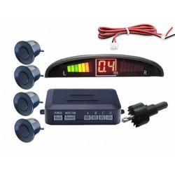 Kit 4 Sensores Estacionamento de Automóvel c/ Display