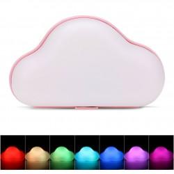 Nuvem decorativa 3D Led Neon Rosa (pilhas ou elétrico)