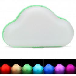 Nuvem decorativa 3D Led Neon verde (pilhas ou elétrico)