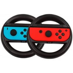 Nintendo Switch Pack 2 Volantes para Joy-Con Preto