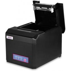 POS - Impressora térmica de Tickets/ Talões - USB - LAN - COM - Auto-corte - 80mm